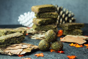 Matcha Sprouted Hemp Bliss Balls gluten-free, vegan, no refined sugar added