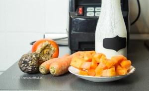 Rezept für schnellen Probiotischen Orangen Smoothie