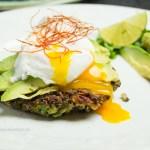 gluten-free quinoa kale fritters