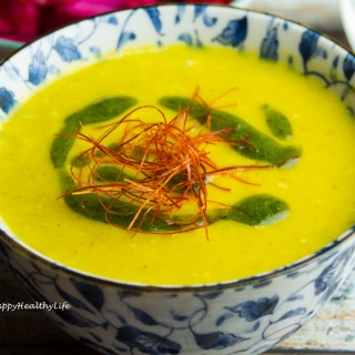 TOPINAMBUR SAFRAN SUPPE (GF, V)