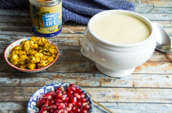 Cauliflower White Wine Soup vegan, gluten free