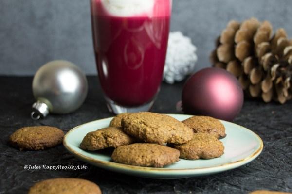 Glutenfree Gingersnap Cookies