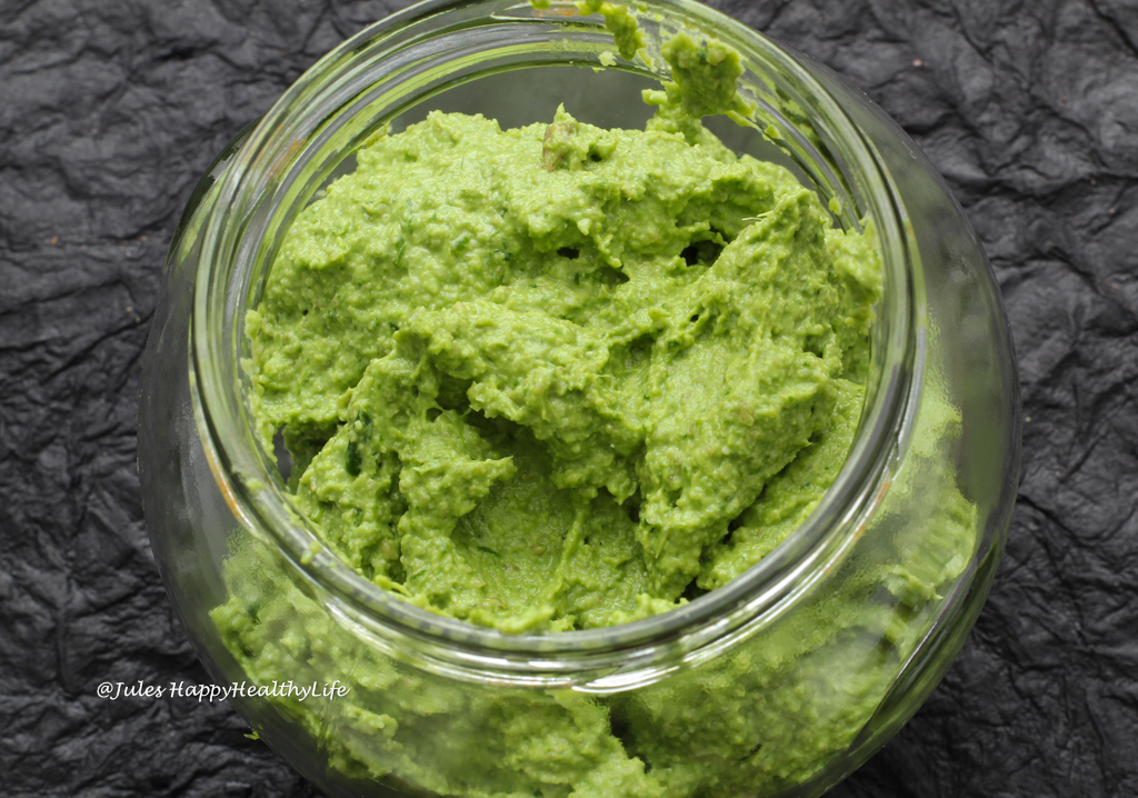 This vegan Wild Garlic Pesto is nut free