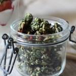 Matcha als Heilpflanze, gesundes Matcha Granola vegan, raw, glutenfrei