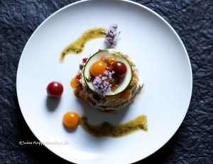 Recipe for gluten free raw Truffled Zucchini Lasagne