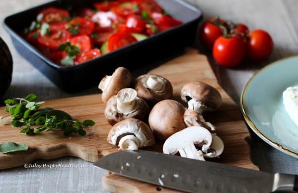 schneller, günstiger Gemüseauflauf mit Feta