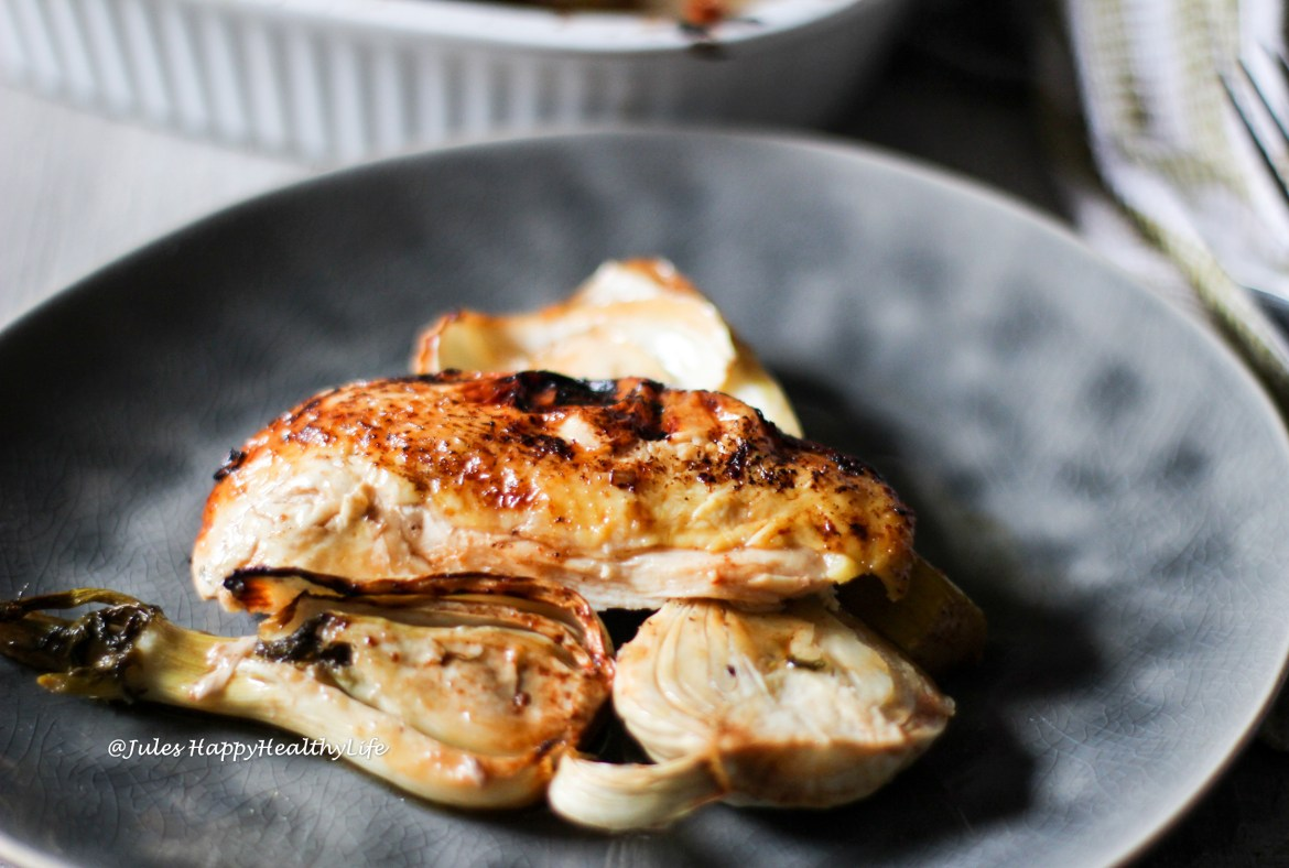 Poultry recipe - Tamarind Lemongrass Roast Chicken with Fennel