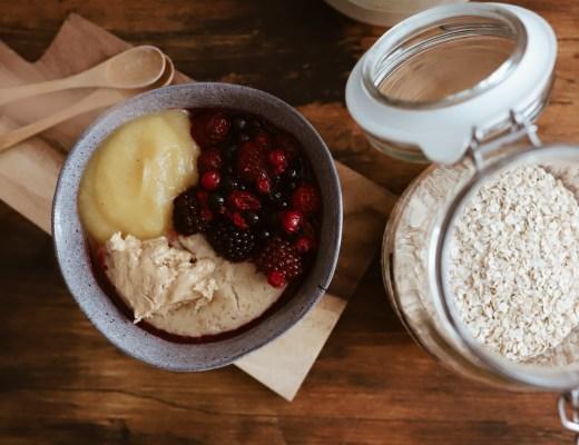 veganes protein-porridge