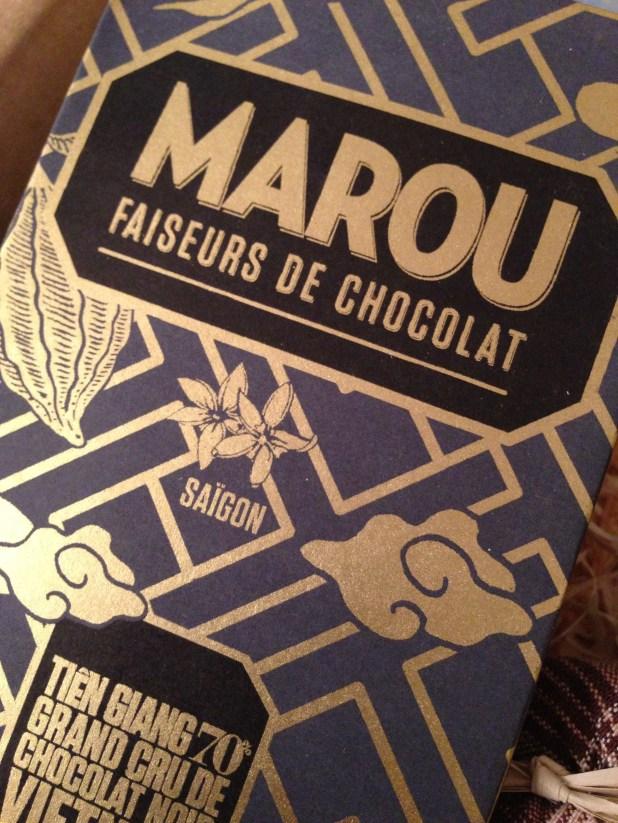 Labonne box bonne box gourmet surprises gout gourmandises chocolat produits huile caramel marou vietnam salon