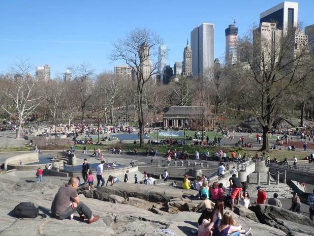 sejour reussi avec des enfants a New York - terrain de jeux central park