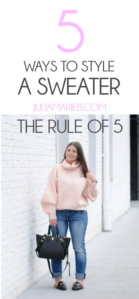5 Ways to Wear a Sweater