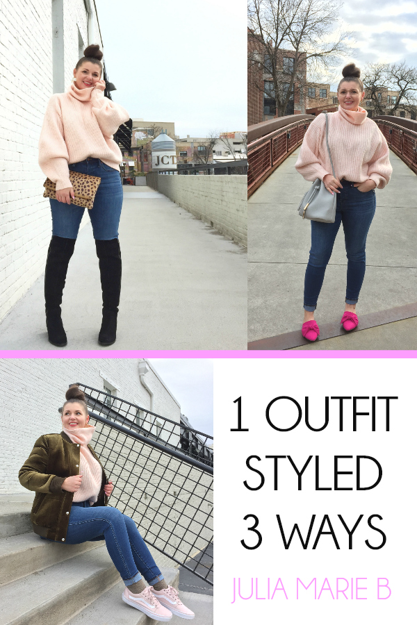 1 OUTFIT STYLED 3 WAYS
