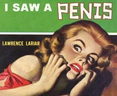 The first time I saw penis. Book cover