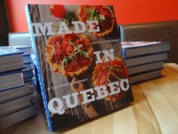 Made in Quebec: A Culinary Journey, is IACP Finalist for Culinary Travel book awards.
