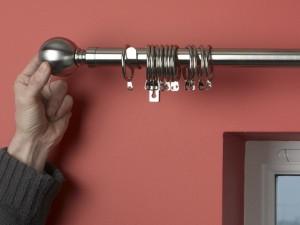 Fitting A Curtain Pole