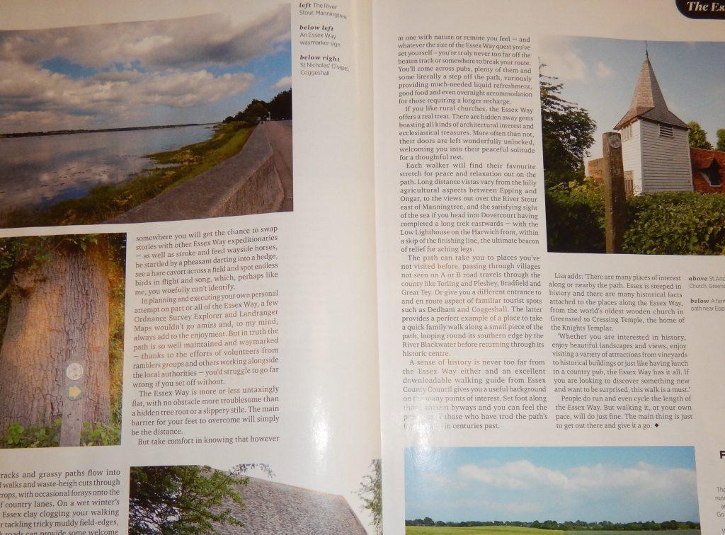 Essex Life magazine Essex Way feature