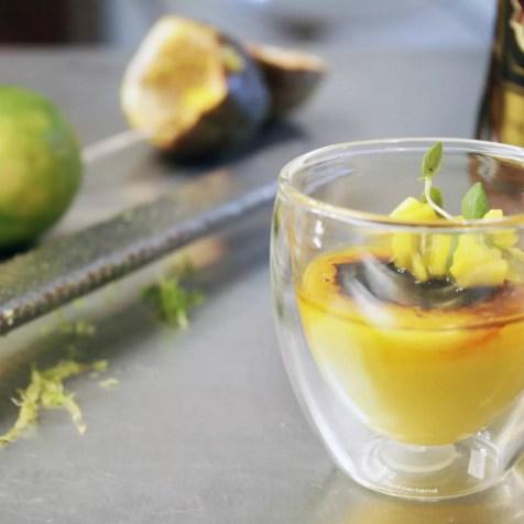 Mango Mousse mit Rum