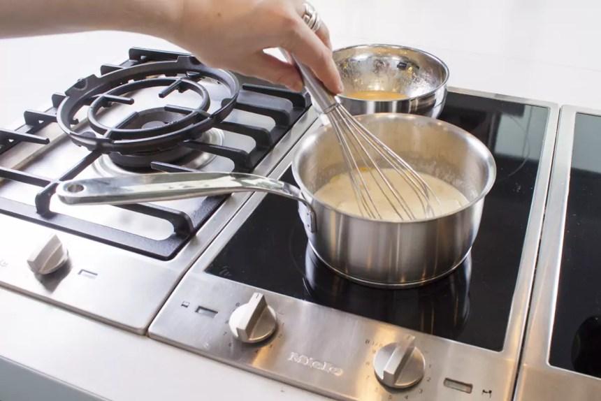 Schlagobers aufkochen