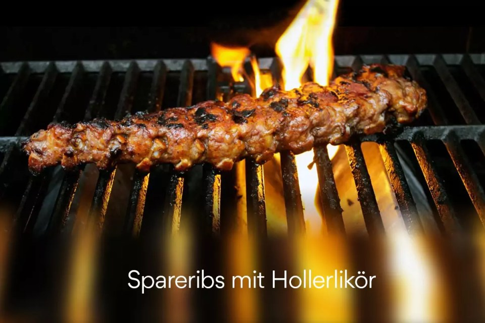Spareribs mit Hollerlikör, Julian Kutos