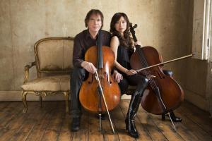 Julian and Jiaxin Lloyd Webber (photo by Simon Fowler)
