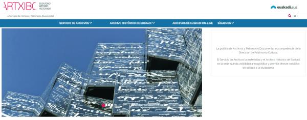 ARTXBIC Euskadiko Artxibo Historikoa
