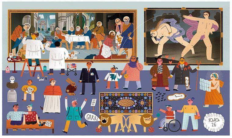 Actividades digitales de los museos nacionales para el público infantil