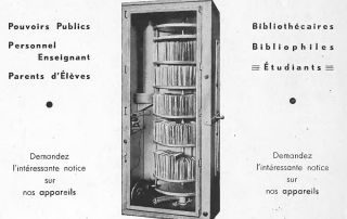 Aparato para la desinfección de libros y objetos similares