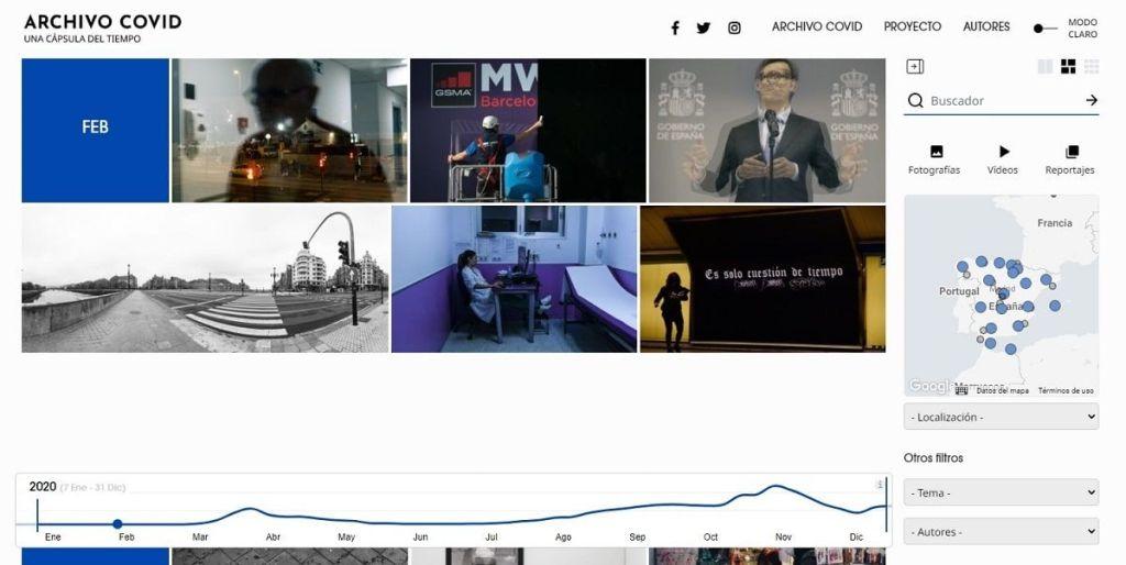 Archivo Covid, un legado visual de la pandemia en España para futuras generaciones