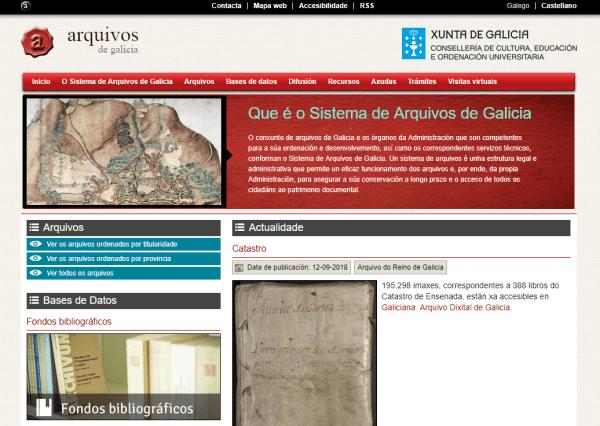 Arquivos de Galicia