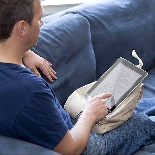 Atril cojín libro electrónico - The Book Seat