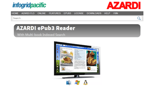 Azardi ePub3 Reader