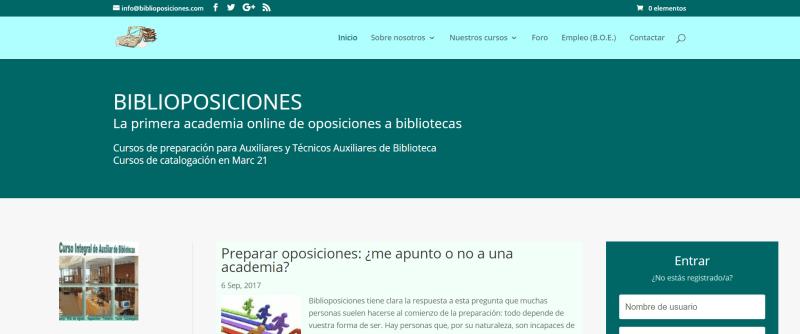 Biblioposiciones