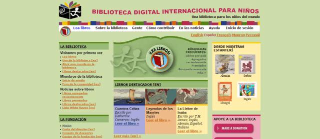 Biblioteca Digital Internacional para Niños