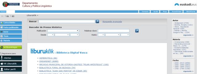 Biblioteca Digital Vasca (Liburuklik)