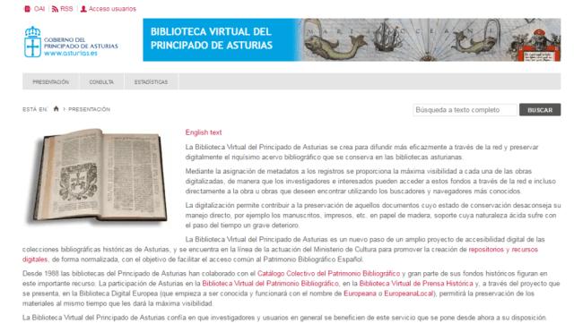 Biblioteca Virtual del Principado de Asturias