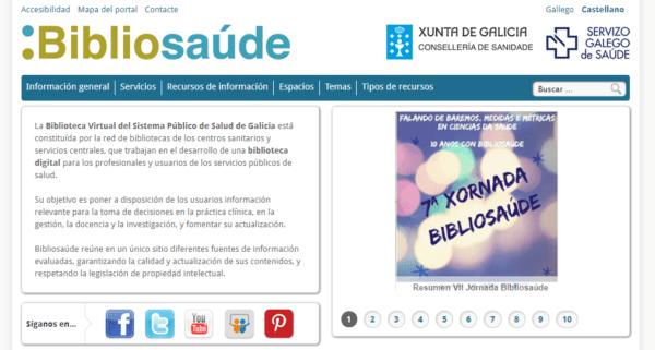 Biblioteca Virtual del Sistema Público de Salud de Galicia