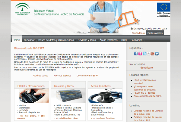 Biblioteca Virtual del Sistema Sanitario Público de Andalucía
