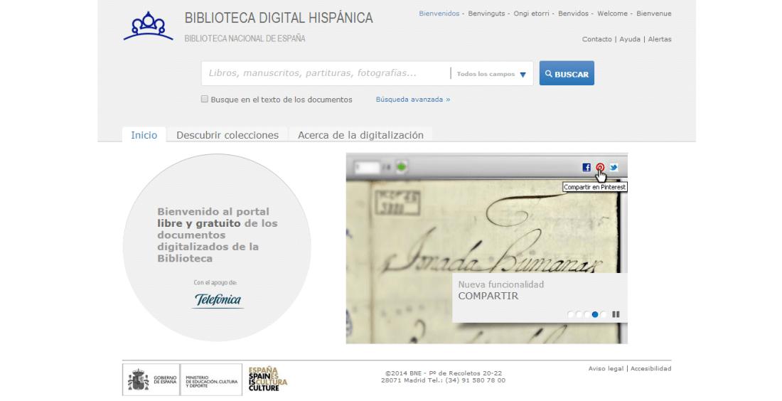 Biblioteca Digital Hispanica - BNE