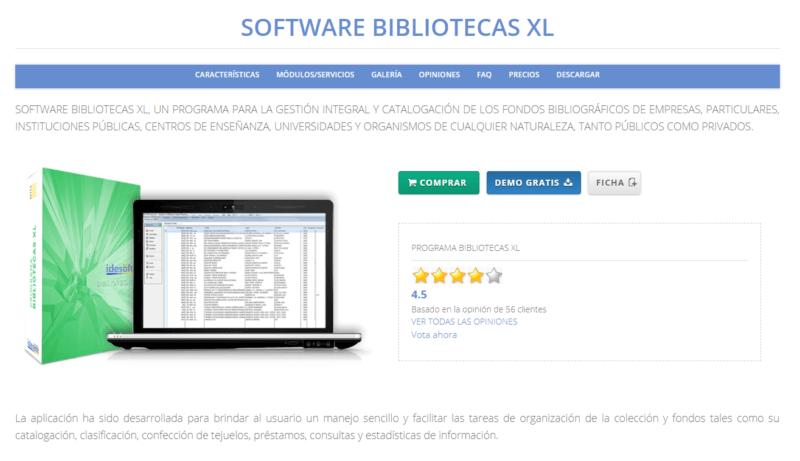 Bibliotecas XL