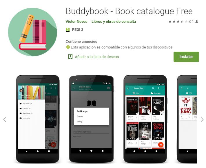 Buddybook Book catalogue Free