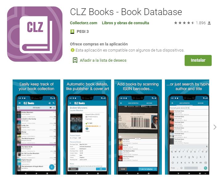 CLZ Books Book Database
