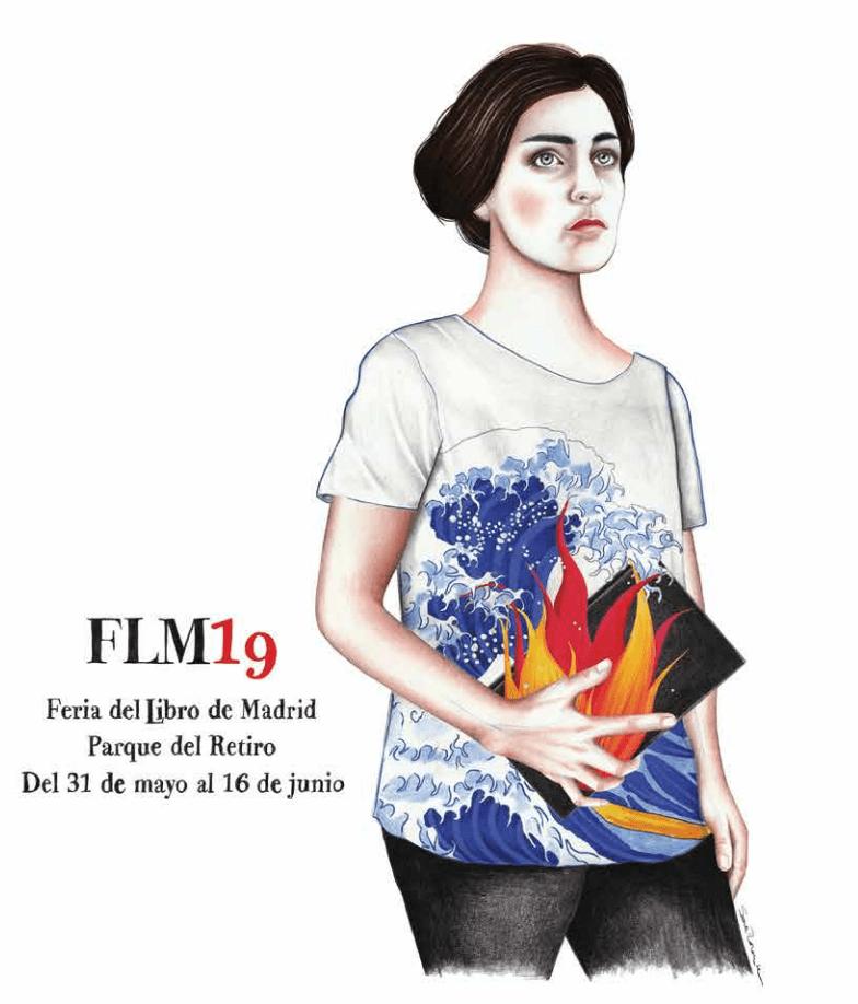 Cartel Feria del Libro de Madrid 2019
