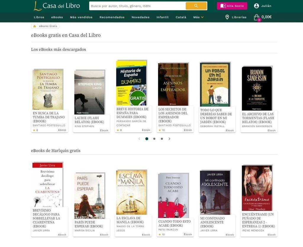 Casa del libro ebooks gratis