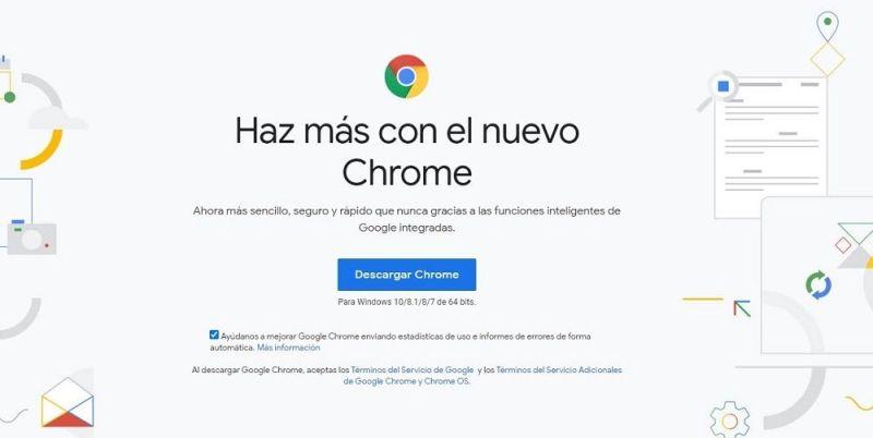 Chrome navegador web
