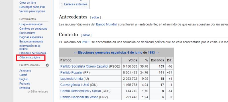 Citar esta página - Wikipedia