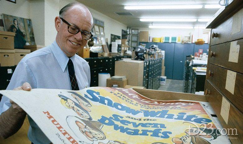 Dave Smith, el primer archivero de The Walt Disney Company