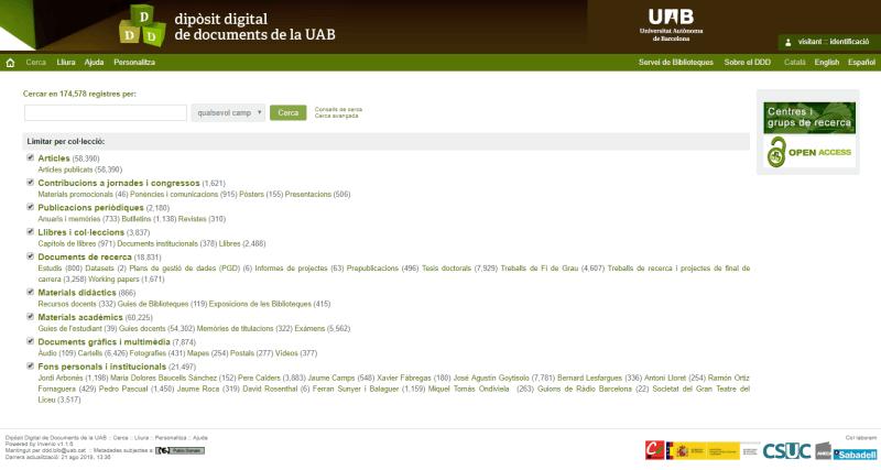 Dipòsit Digital de Documents de la UAB - DDD