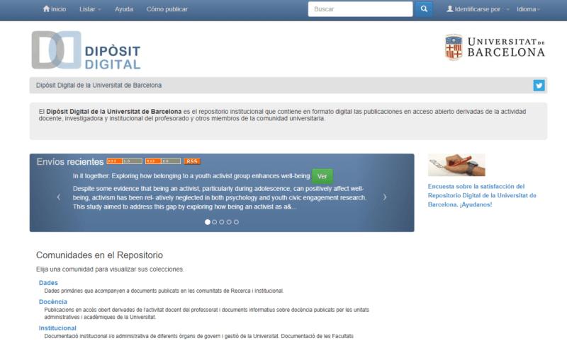 Dipòsit Digital de la Universitat de Barcelona