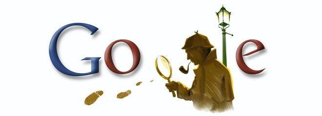 Doodle Arthur Conan Doyle