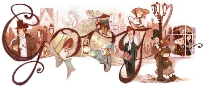 Doodle Charles Dickens